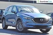 2017 Mazda CX-5 KF2W7A Maxx SKYACTIV-Drive FWD Sport Deep Crystal Blue 6 Speed Sports Automatic West Hindmarsh Charles Sturt Area Preview
