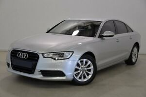 2013 Audi A6 4G MY13 Multitronic Silver 1 Speed Constant Variable Sedan