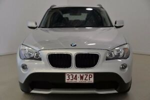 2010 BMW X1 E84 sDrive20d Steptronic Silver 6 Speed Sports Automatic Wagon