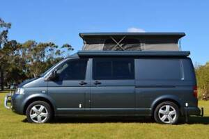 VW Automatic Frontline Campervan with 4 Seat Belts & Rear Shower!
