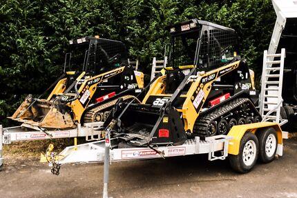 Dry hire rentals  Excavators/ Posi trac /Dingo's/ Tipper /Dumpers