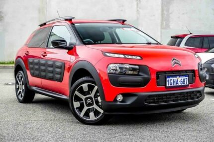 2017 Citroen C4 Cactus MY16 Exclusive 1.2I Puretech Rouge Aden 5 Speed Manual Wagon