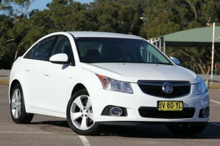 2014 Holden Cruze JH Series II MY14 Equipe White 6 Speed Sports Automatic Sedan West Gosford Gosford Area Preview