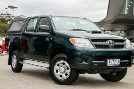 2005 Toyota Hilux Green Automatic Utility