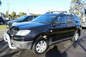 2005 Mitsubishi Outlander ZF MY06 Activ Black 4 Speed Sports Automatic Wagon