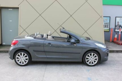 2012 Peugeot 207 MY10 CC 1.6 Grey 4 Speed Automatic Cabriolet