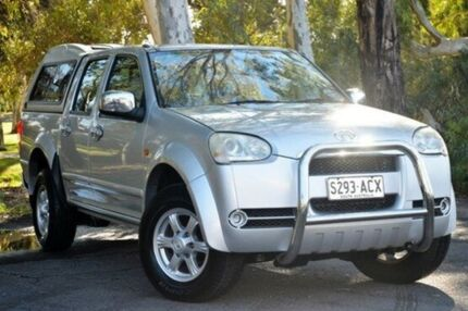 2009 Great Wall V240 K2 Super Luxury Silver 5 Speed Manual Utility