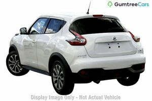 2017 Nissan Juke Ti-S TI-S Ivory Pearl Constant Variable Hatchback