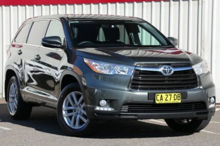 2014 Toyota Kluger GSU50R GX 2WD Green 6 Speed Sports Automatic Wagon Tuggerah Wyong Area Preview