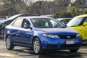 2009 Kia Cerato TD MY09 S Blue 4 Speed Sports Automatic Sedan Ringwood East Maroondah Area Preview