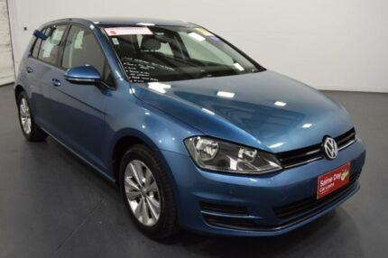 2015 Volkswagen Golf AU MY15 90 TSI Comfortline Blue 7 Speed Auto Direct Shift Hatchback Moorabbin Kingston Area Preview