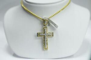 1.05 CT Diamond Cross in 10k gold