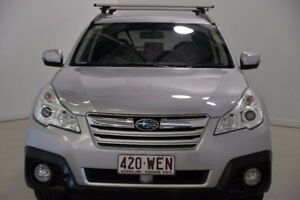 2013 Subaru Outback B5A MY13 2.5i Lineartronic AWD Silver 6 Speed Constant Variable Wagon