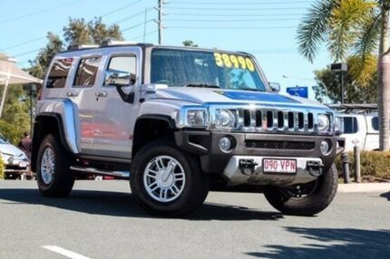 2009 Hummer H3 Luxury Silver 4 Speed Automatic Wagon