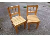 Wanted: Small wooden children's chairs