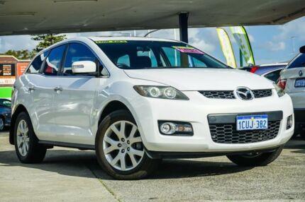 2008 Mazda CX-7 ER Luxury (4x4) White 6 Speed Auto Activematic Wagon Victoria Park Victoria Park Area Preview