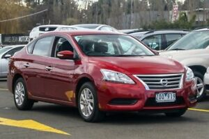2013 Nissan Pulsar B17 ST Burgundy 1 Speed Constant Variable Sedan Ringwood East Maroondah Area Preview