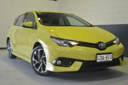 2015 Toyota Corolla ZRE182R SX Yellow 6 Speed Manual Hatchback Nailsworth Prospect Area Preview