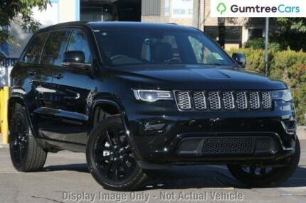 2017 Jeep Grand Cherokee WK MY17 Blackhawk Diamond Black 8 Speed Sports Automatic Wagon