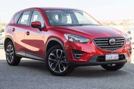2016 Mazda CX-5 KE1032 Akera SKYACTIV-Drive AWD Red Sports Automatic Wagon