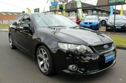 2010 Ford Falcon FG XR6 50th Anniversary Black 6 Speed Sports Automatic Sedan