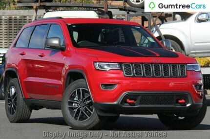 2017 Jeep Grand Cherokee WK MY18 Trailhawk Red 8 Speed Sports Automatic Wagon
