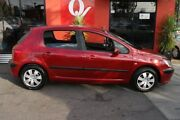 2003 Peugeot 307 1.6 Red 5 Speed Manual Hatchback Blair Athol Port Adelaide Area Preview