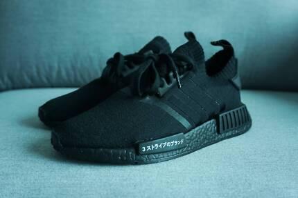 Adidas NMD_R1  PK Japan // Triple Black // us7.5