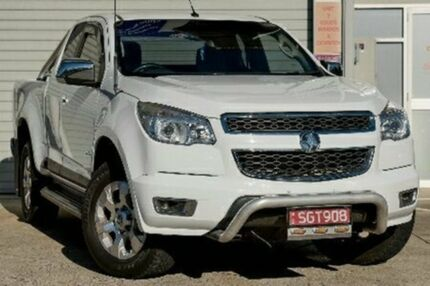 2013 Holden Colorado RG MY13 LTZ EXTENDED CAB Summit White Manual Utility