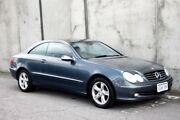 2004 Mercedes-Benz CLK240 C209 Avantgarde Blue 5 Speed Automatic Coupe Mount Hawthorn Vincent Area Preview