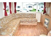 AMAZING STATIC CARAVAN! 12 MONTH SITE! DIRECT BEACH ACCESS! YORKSHIRE COAST! SITE FEES INCLUDED!