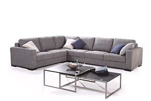 Large Grey 6 seater (9 seater) modular lounge couch Baldivis Rockingham Area Preview