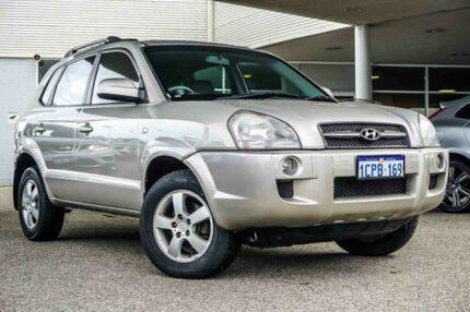 2007 Hyundai Tucson JM City Silver 4 Speed Sports Automatic Wagon Osborne Park Stirling Area Preview