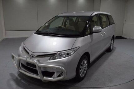 2013 Toyota Tarago GSR50R MY13 GLi Silver 6 Speed Sports Automatic Wagon