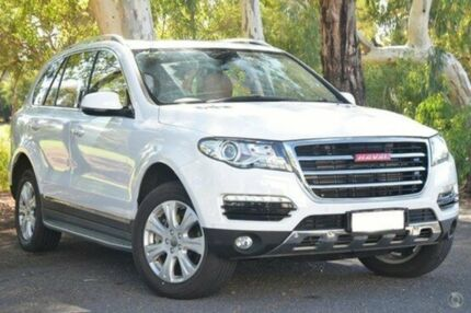 2015 Haval H8 Premium 2WD White 6 Speed Sports Automatic Wagon