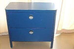 IKEA BUSUNGE BLUE DRAWERS---DISCONTINUED COLOUR Wynn Vale Tea Tree Gully Area Preview