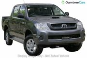 2011 Toyota Hilux KUN26R MY10 SR White 5 Speed Manual Utility Devonport Devonport Area Preview