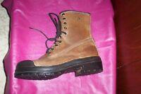 mens 10 terra wild sider  wildsider steel toe work boots CSA
