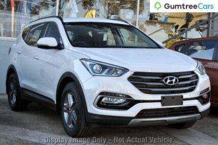 2016 Hyundai Santa Fe DM3 MY16 Active White 6 Speed Sports Automatic Wagon Hillcrest Logan Area Preview