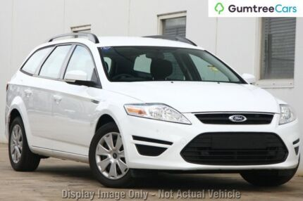 2014 Ford Mondeo MC LX PwrShift TDCi White 6 Speed Sports Automatic Dual Clutch Wagon Ringwood East Maroondah Area Preview