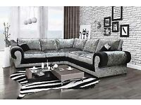 stunning brand new large corner couches the