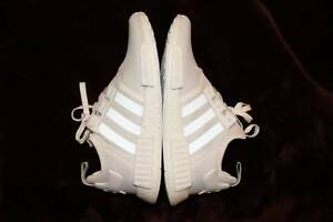 Adidas NMD R1 Triple White US 12 Eight Mile Plains Brisbane South West Preview