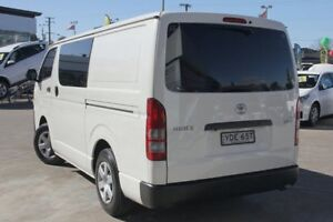 2015 Toyota Hiace KDH201R MY15 LWB White 4 Speed Automatic Van Old Guildford Fairfield Area Preview