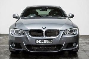 2012 BMW 320D E92 MY11 Steptronic Graphite Grey 6 Speed Sports Automatic Coupe
