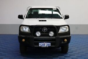2011 Toyota Hilux KUN26R MY11 Upgrade SR (4x4) White 5 Speed Manual Dual C/Chas
