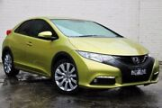 2013 Honda Civic 9th Gen MY13 VTi-L Yellow 5 Speed Sports Automatic Hatchback Doncaster Manningham Area Preview