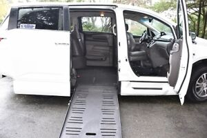 2012 Honda Odyssey EXL wheelchair ramp van