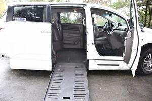 2012 Honda Odyssey EXL wheelchair ramp van