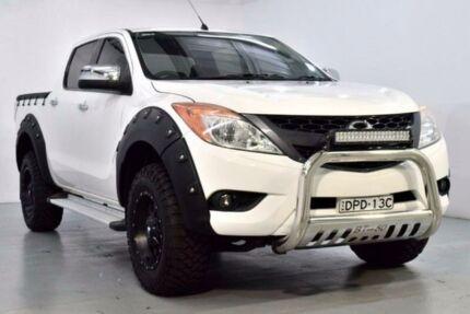 2012 Mazda BT-50 UP0YF1 XTR White Sports Automatic Utility
