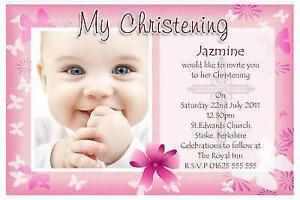 Great 50 Christening Invitations